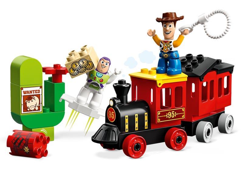 Đoàn Tàu Hơi Nước - LEGO CITY 10894
