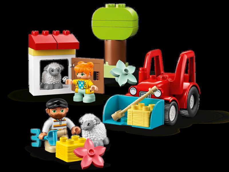 Máy Kéo Trang Trại & Chăm Sóc Động Vật - LEGO DUPLO 10950