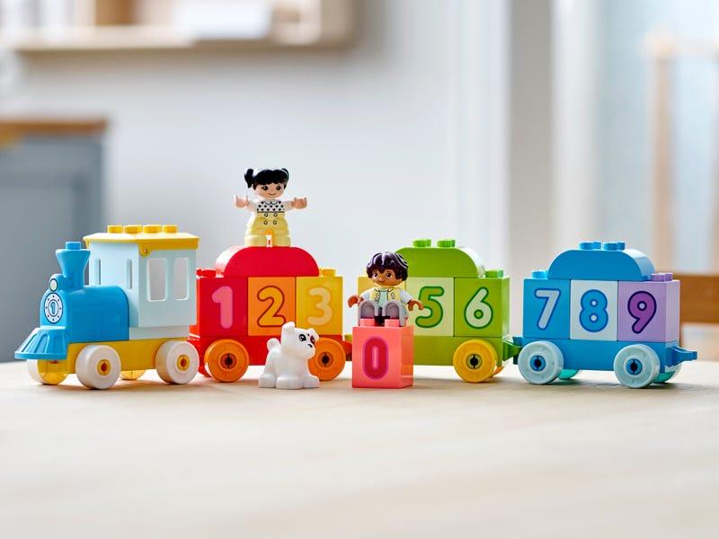 Tàu Lửa Học Đếm Số - LEGO DUPLO 10954