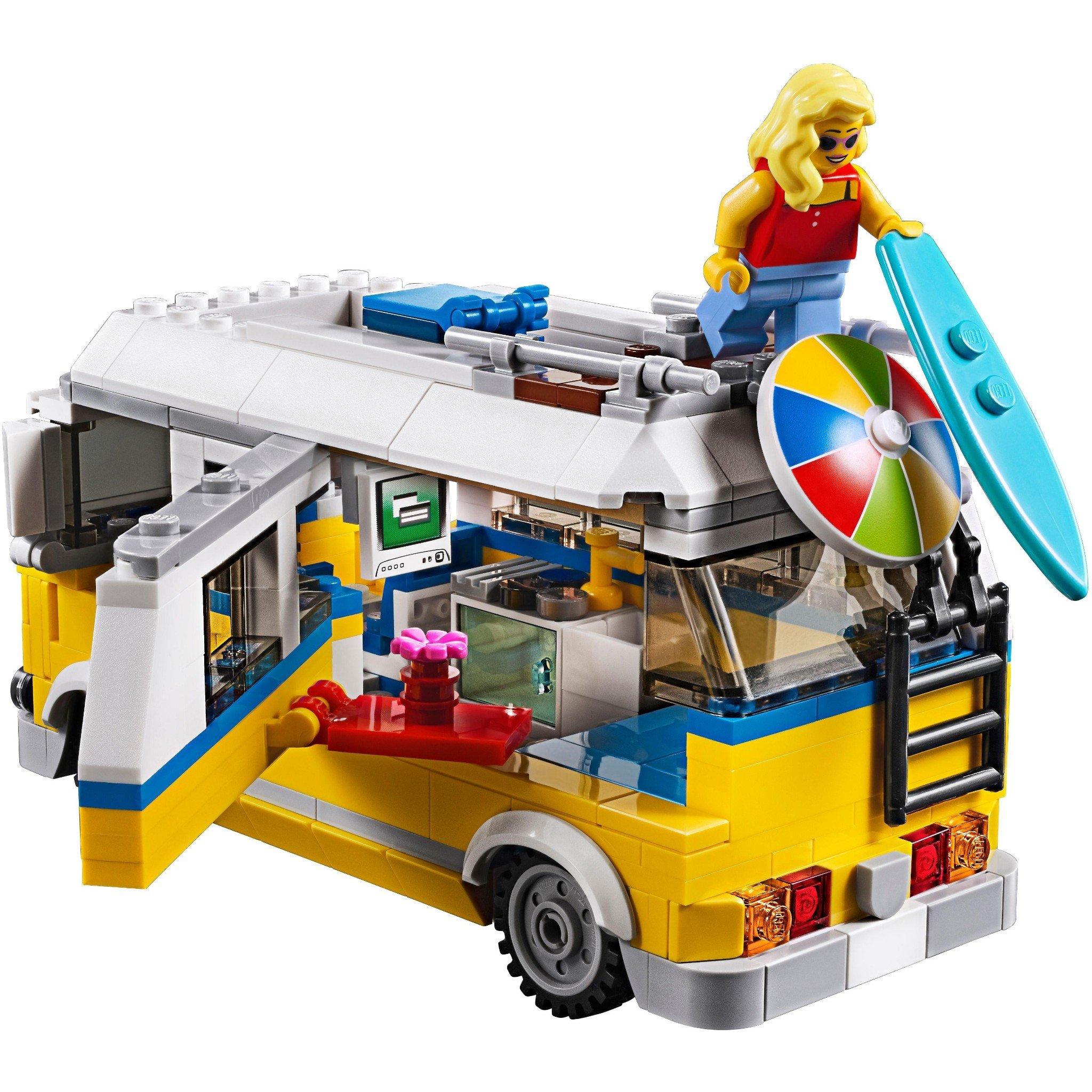 LEGO - Xe Cắm Trại Bải Biển - 31079