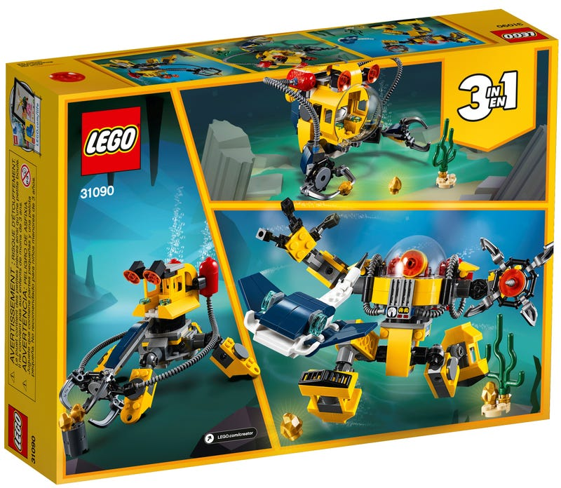 Rô Bốt Thám Hiểm Biển Sâu - LEGO CREATOR 31090