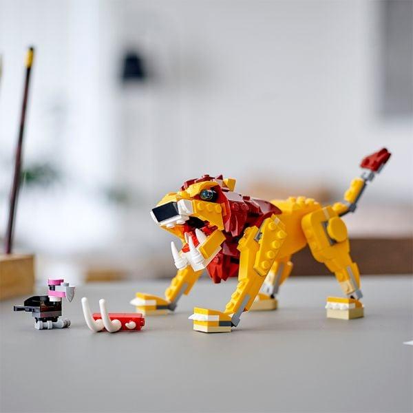 Sư Tử Hoang Dã - LEGO CREATOR 31112