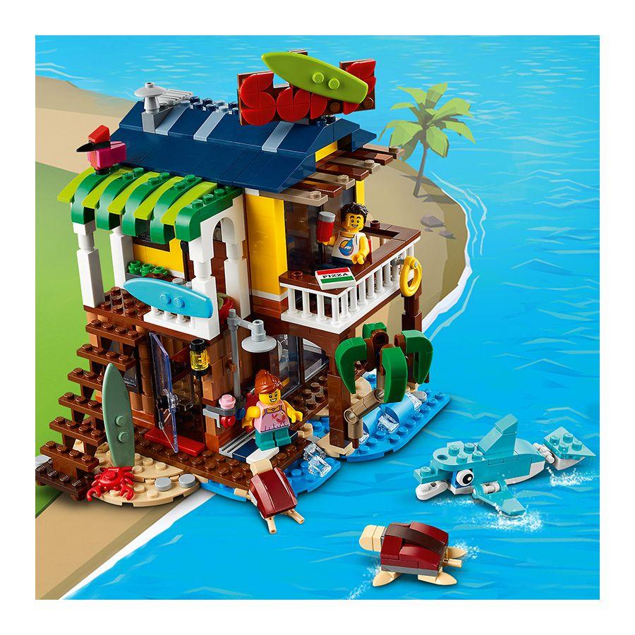 Nhà Lướt Sóng Bãi Biển - LEGO CREATOR 31118
