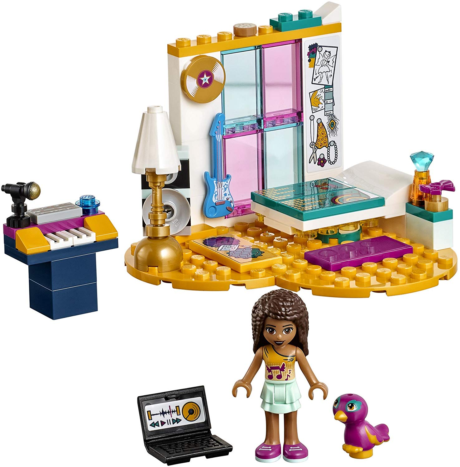 LEGO-Phòng Ngủ Của Andrea-41341