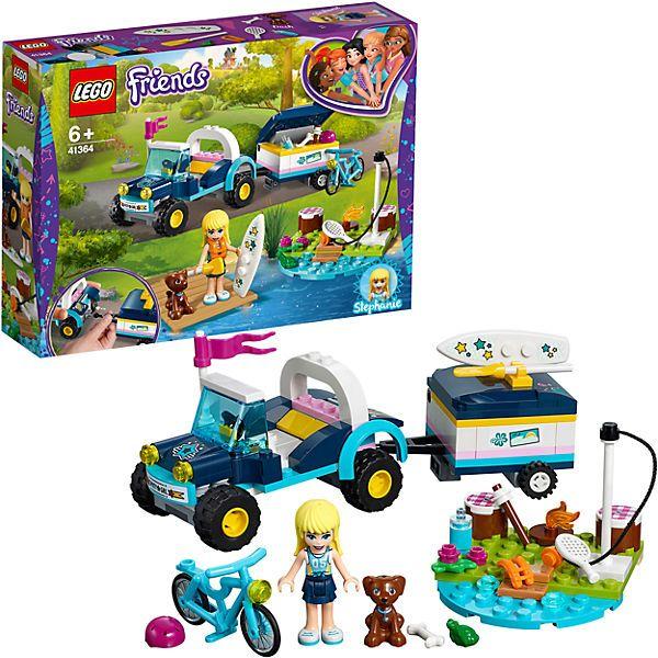 LEGO-Xe Dã Ngoại Kèm Vali Kéo Của Stephanie-41364