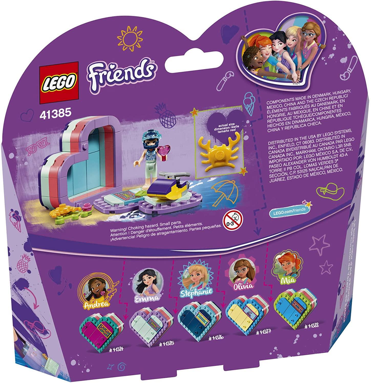 LEGO-Hộp Trái Tim Mùa Hè Của Emma-41385