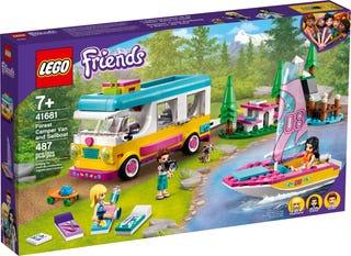 Cắm Trại Trong Rừng Xe Van và Thuyền Buồn - LEGO FRIENDS 41681
