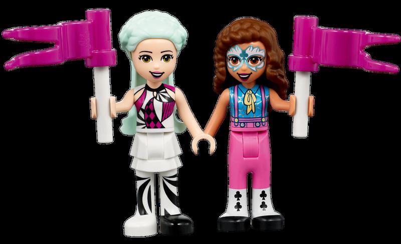 Buổi Biểu Diễn Ảo Thuật Nhào Lộn - LEGO FRIENDS 41686