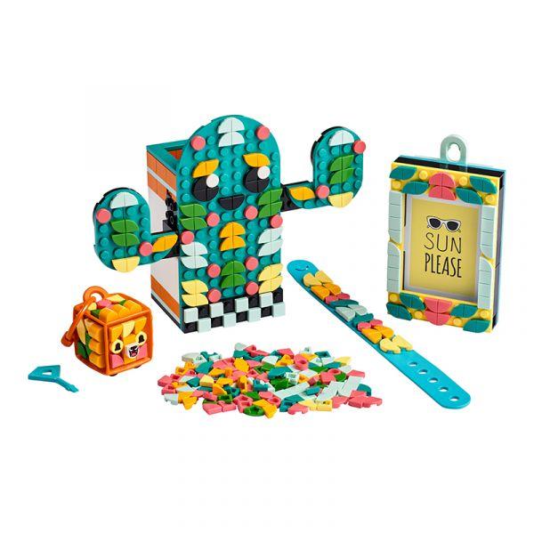Phụ kiện Mùa Hè Đáng Yêu vòng đeo tay, khung hình, hộp bút - LEGO DOTS 41937