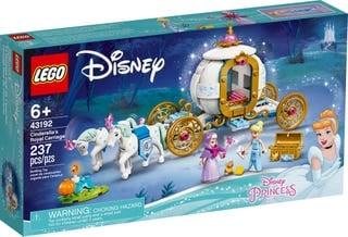 Cỗ Xe Hoàng Gia Của Lọ Lem - LEGO DISNEY PRINCESS 43192
