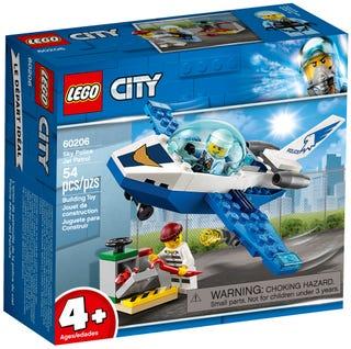 Máy Bay Tuần Tra Cảnh Sát - LEGO CTIY 60206