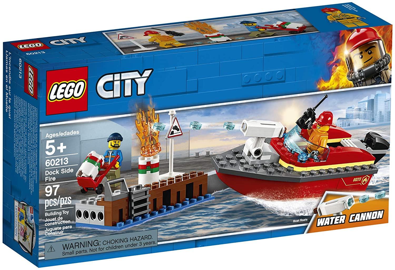 LEGO-Cứu Hỏa Bến Tàu-60213