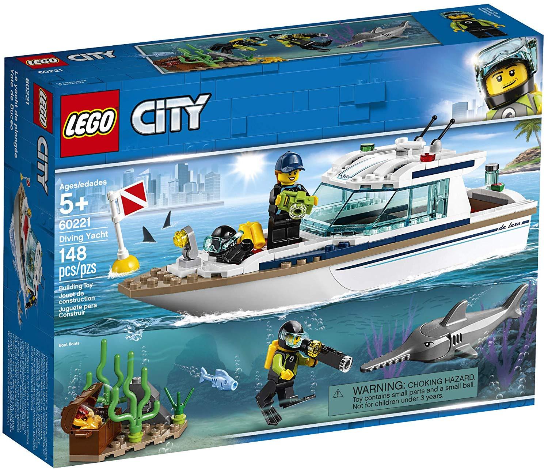 LEGO-Thuyền Buồm Lặn Biển-60221