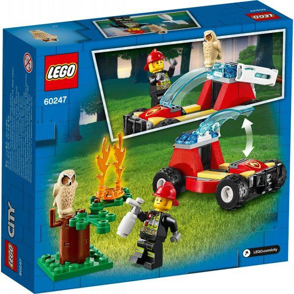 LEGO-Lực Lượng Cứu Hỏa Rừng-60247