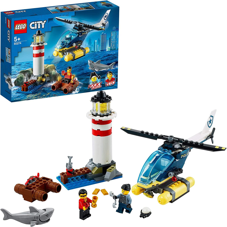 LEGO-Trực Thăng Bắt Cướp Trong Ngọn Hải Đăng-60274
