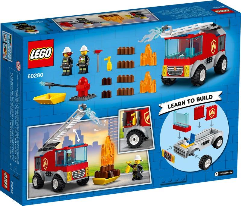 Xe Thang Chữa Cháy - LEGO CITY 60280