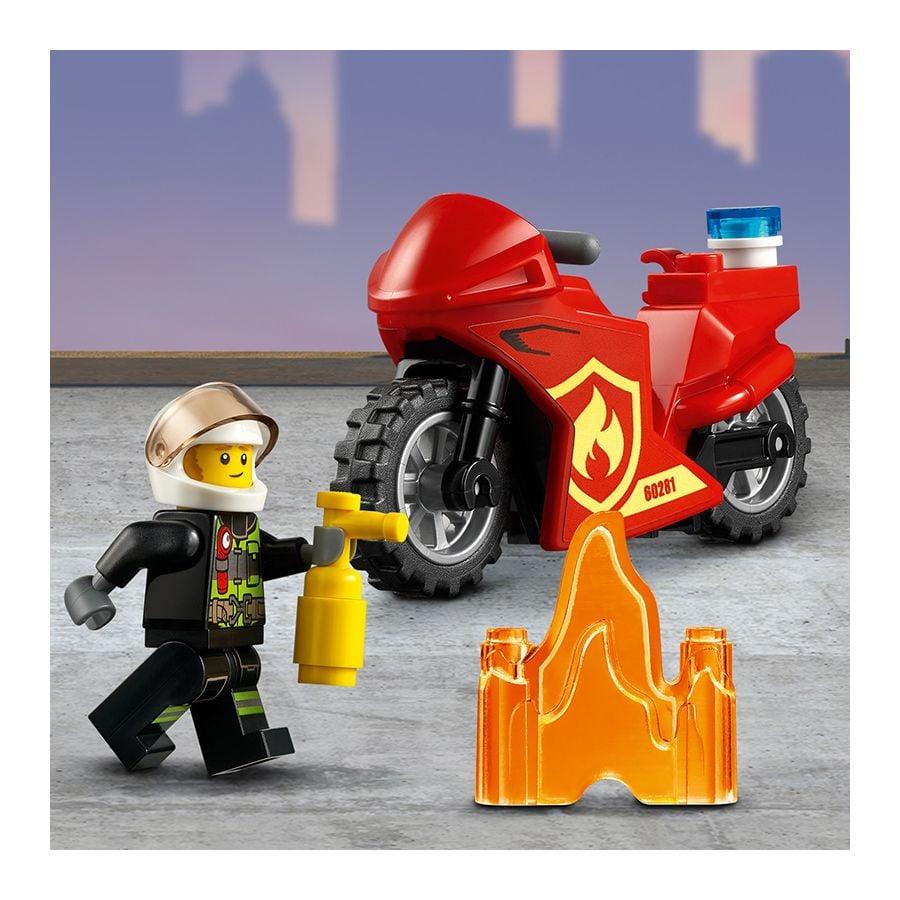 Trực Thăng Cứu Hỏa - LEGO CITY 60281