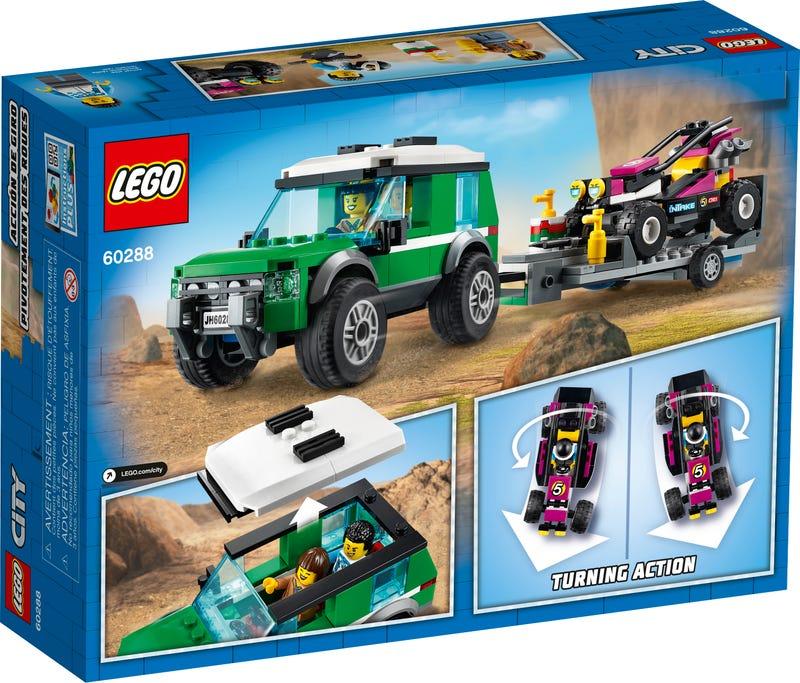 Xe Tải Vận Chuyển Mô Tô Địa Hình - LEGO CITY 60288