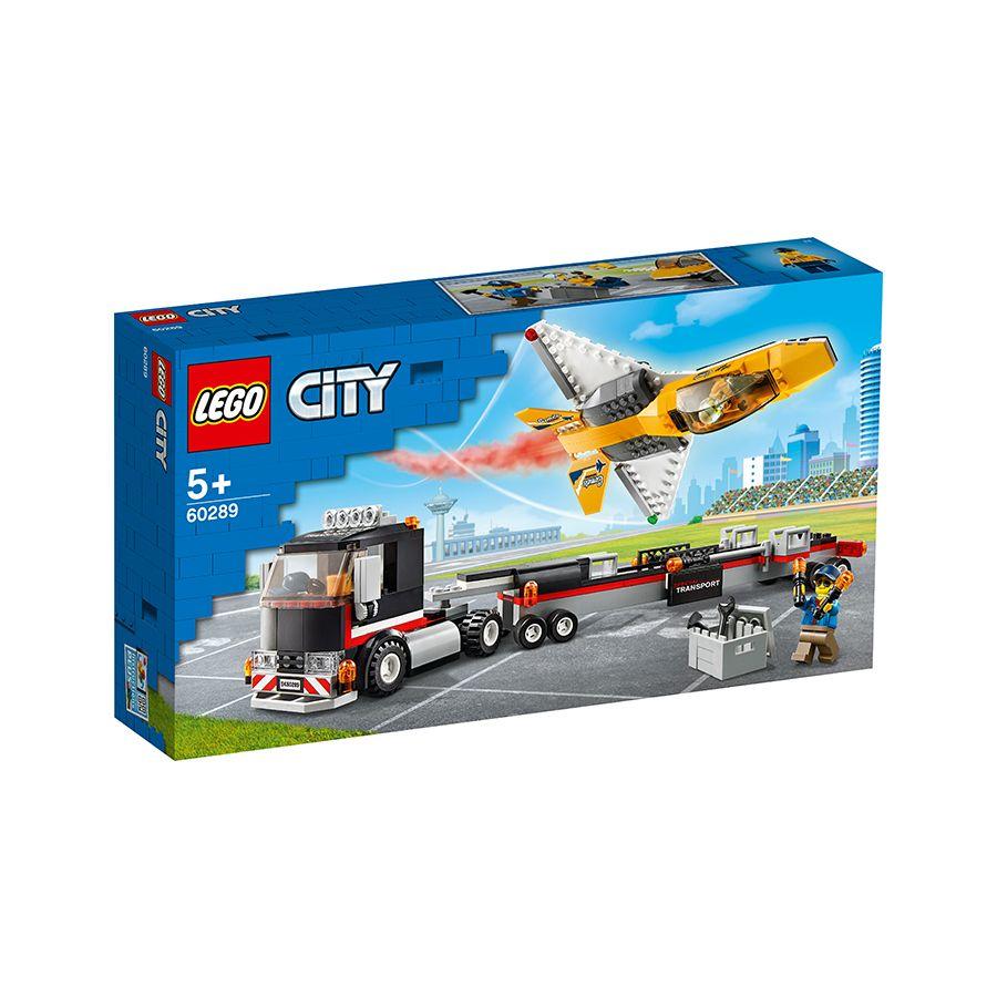 Xe Vận Chuyển Máy Bay Phản Lực - LEGO CITY 60289