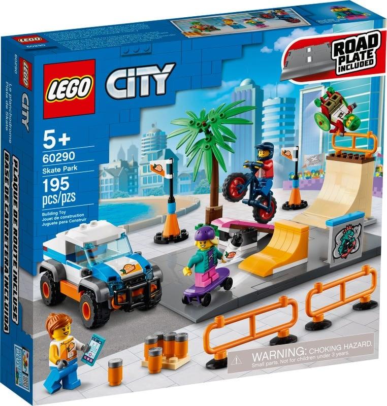 Khu Vui Chơi Trượt Ván - LEGO CITY 60290
