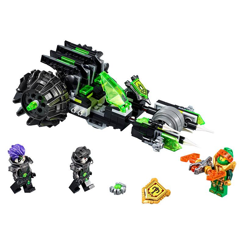 LEGO-Aaron Đại Chiến Xe Biến Hình Twinfector-72002