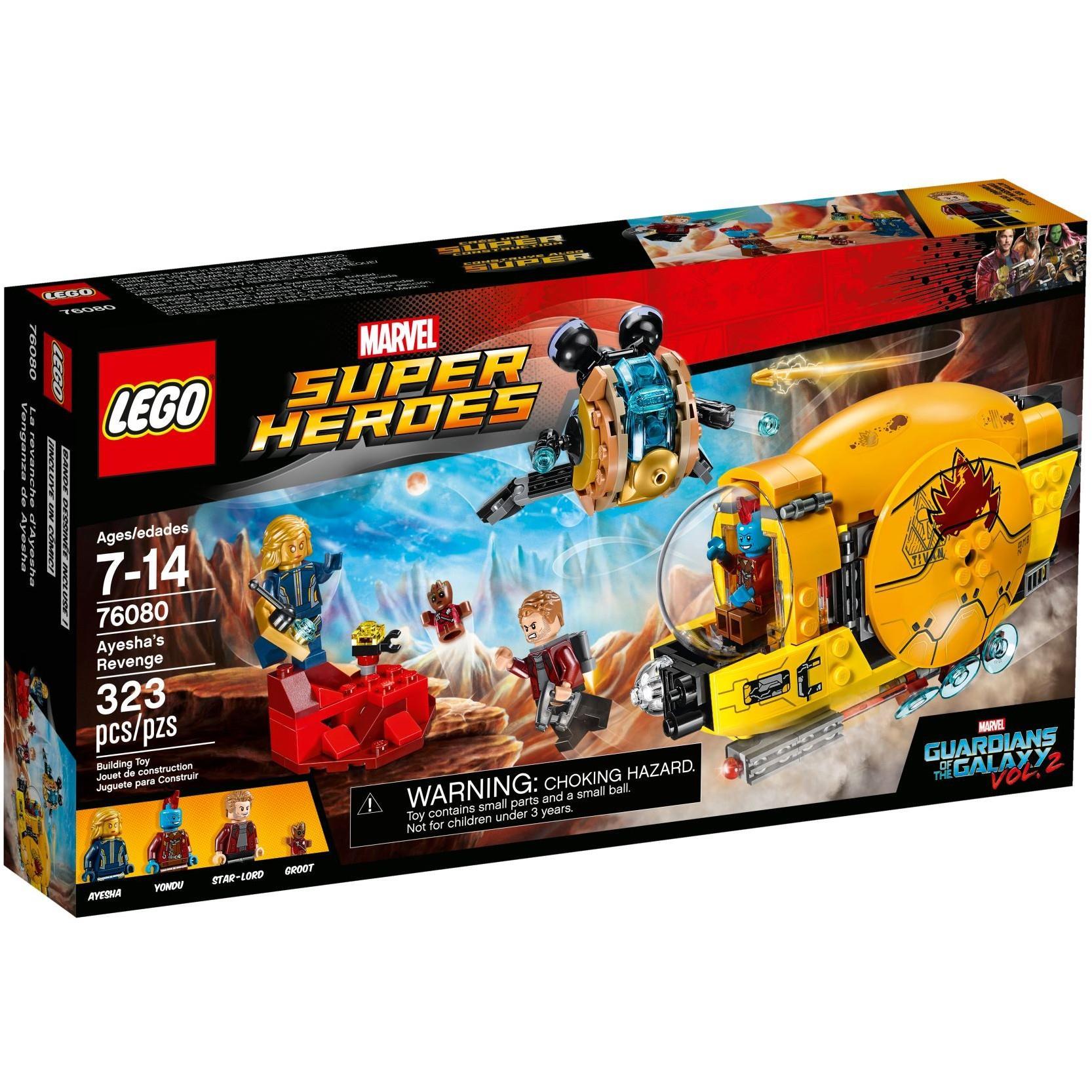 LEGO - Sự Trả Thù Của Ayesha - 76080