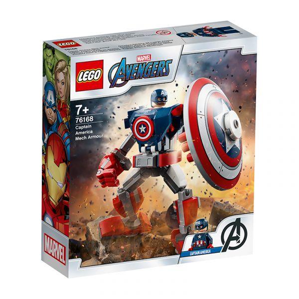 LEGO - Chiến giáp Captain America - LEGO SUPERHEROES 76168