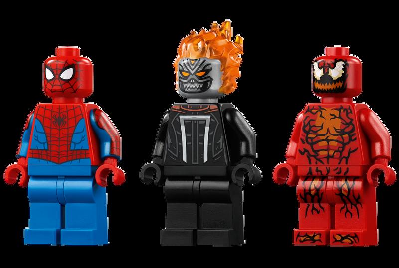 Spiderman Và Ma Tốc Độ Đối Đầu Carnage - LEGO SPIDERMAN 76173