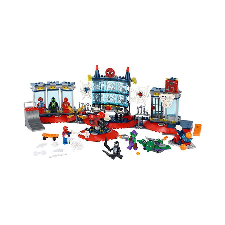 Đột Kích Hang Ổ Người Nhện - LEGO SUPERHEROES 76175