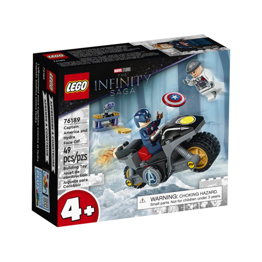 Đội Trưởng Mỹ Đối Đầu Tổ Chức Hydra - LEGO SUPEREROES 76189