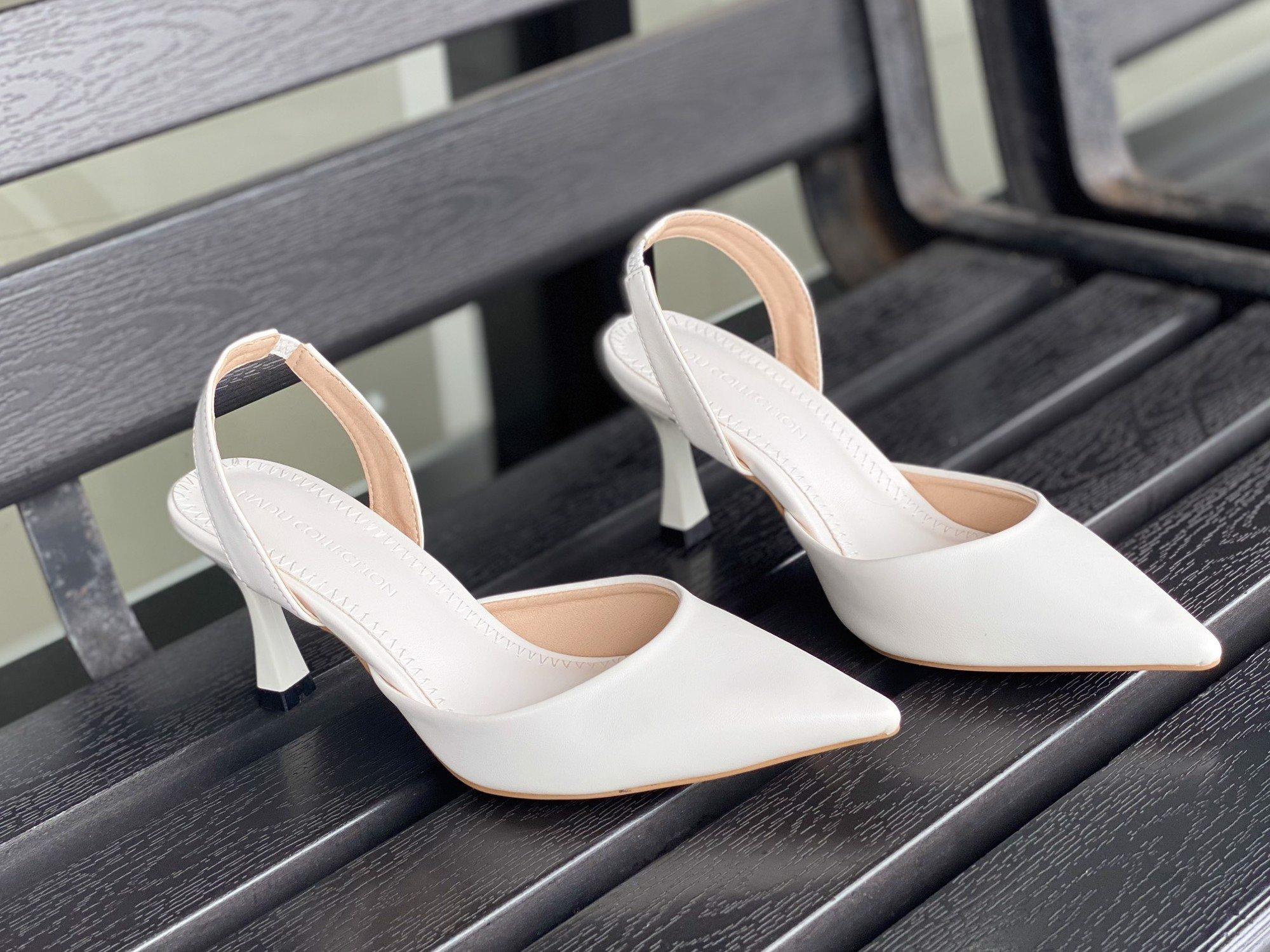 Sandal cao gót 7F