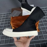 Giày Rick Owens Sock Hight Vải GRO12