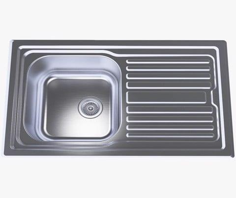 Chậu rửa Inox 304 nguyên khối Đại ThànhDX41102