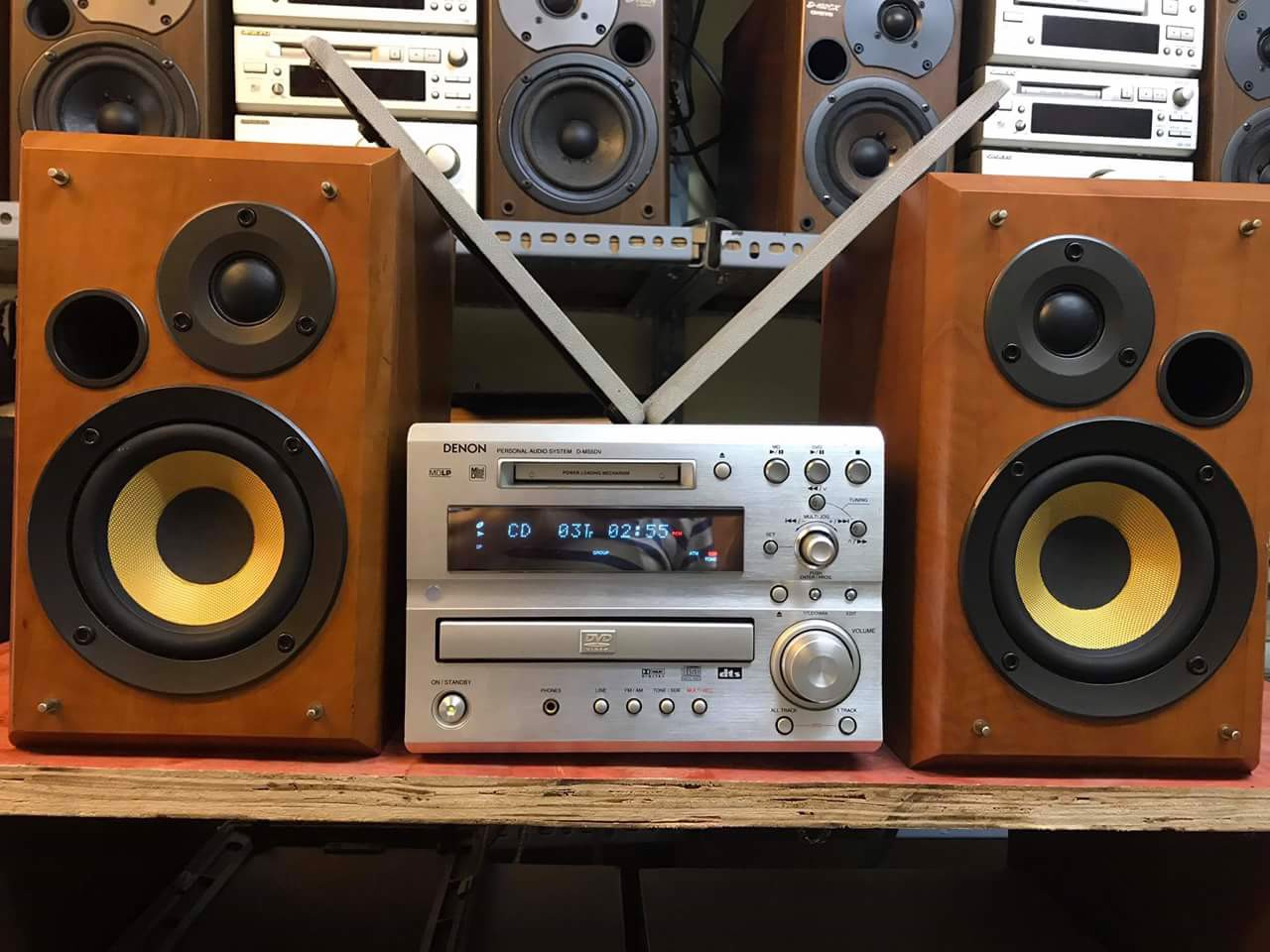 DÀN MINI: DENON MS5DV