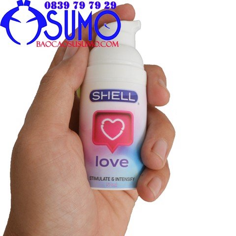 Gel boi tron tang khoai cam cho nu Shell love 50ml Shop sumo Can Tho 0839797929