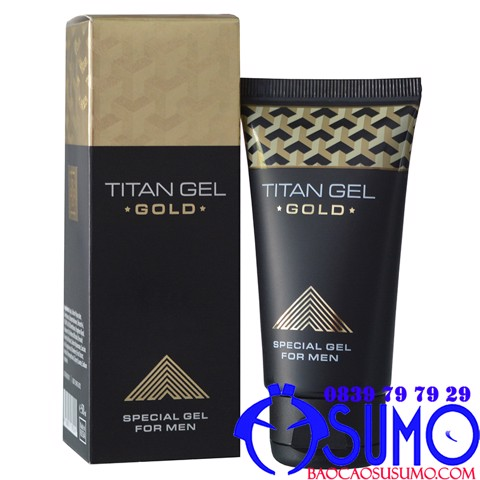 Gel boi tron tang kich co duong vat Titan gold 50ml Shop Sumo Can Tho 0839797929