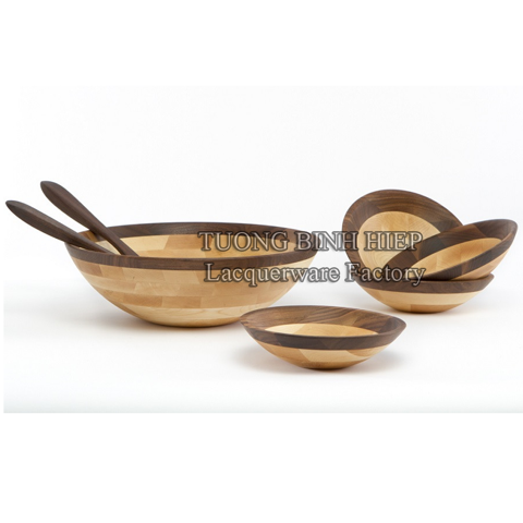 Wooden bowls