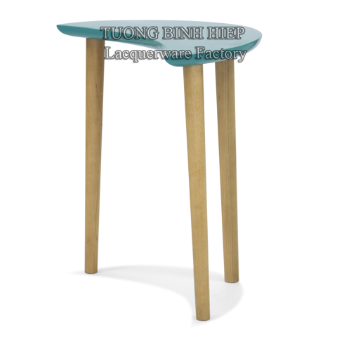 Semicircle side table