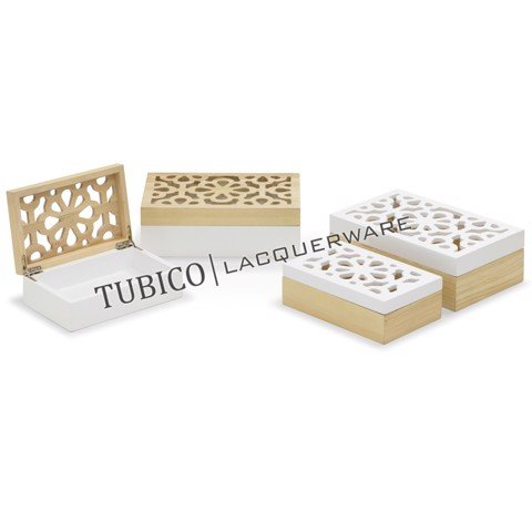 Lacquer storage box (set of 2)