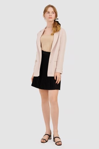 Áo blazer form relaxed basic