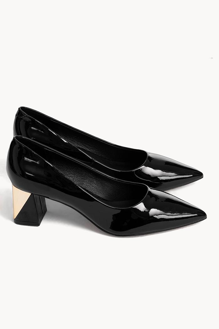 Giày kitten heel