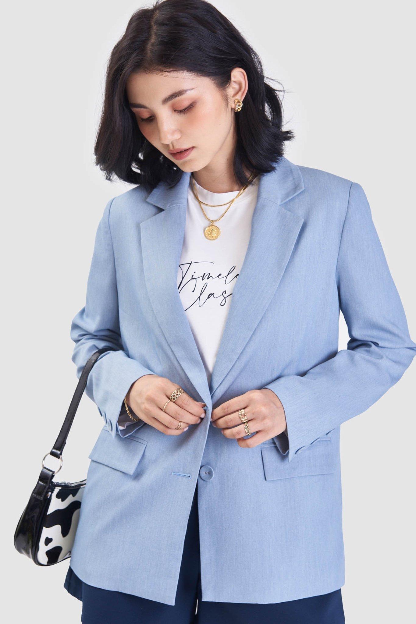 Áo khoác blazer form rộng