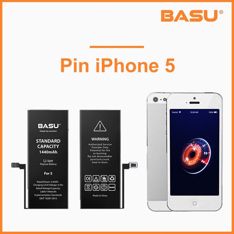 Pin Basu iPhone 5