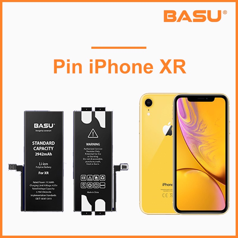 Pin Basu iPhone XR