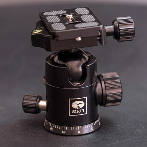 SIRUI G20KX Professional Tripod&Monopod ball head with Fast mounting plate