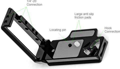 Stabil LD780: L PLATE (BRACKET) FOR NIKON D780