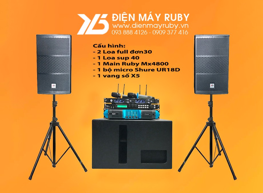 Dàn karaoke vip RUBY R30AS40