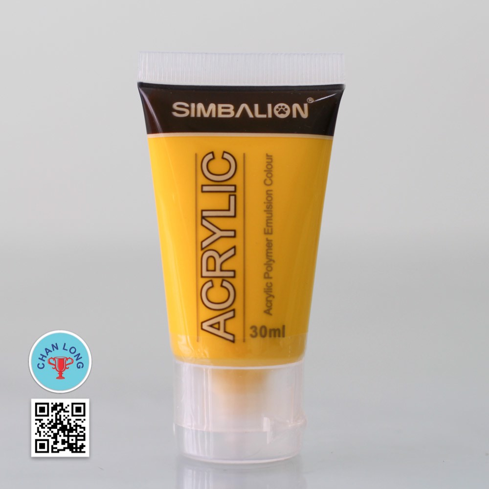 Màu Acrylic Simbalion NAC30-11 (Chrome Yellow)