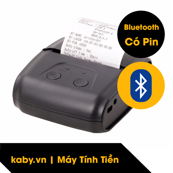 máy in bill bluetooth di động