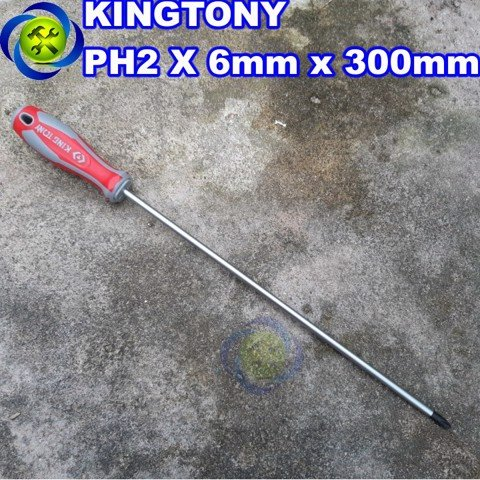 Vít bake Kingtony 14210212 PH2 x 6 x 300mm dài 300mm